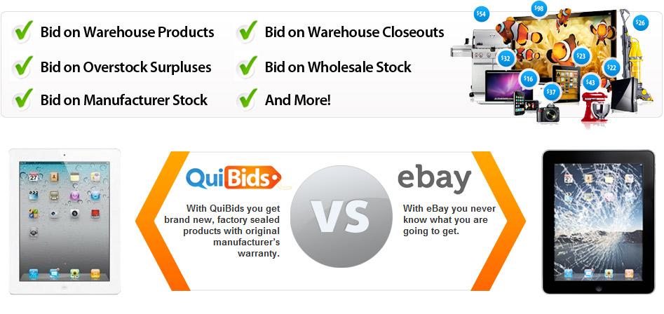 QuiBids Versus